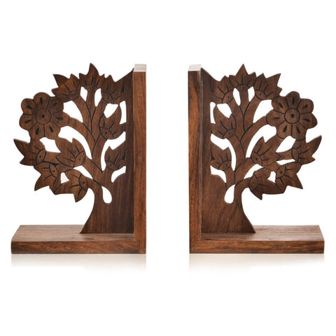 Hand-Carved Bookend