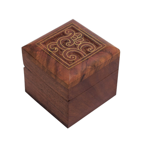 Indian Mughal Design Wooden Decorative Box