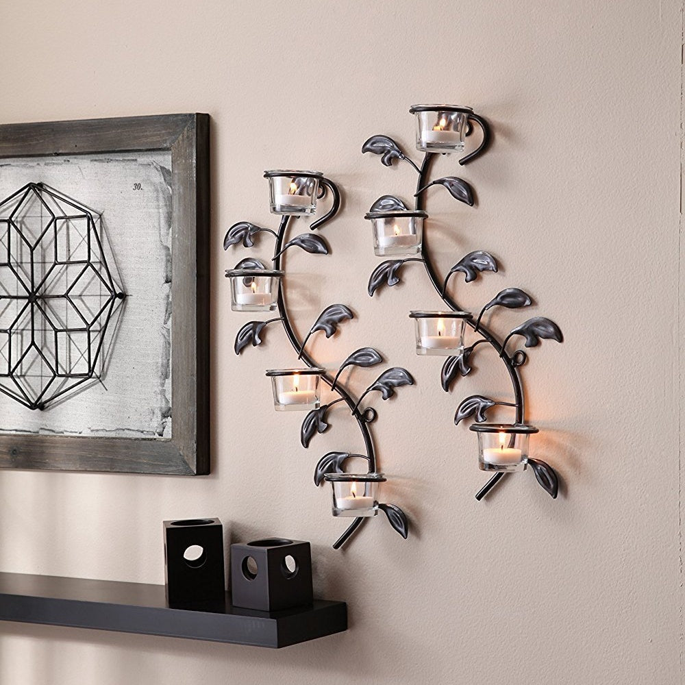 Wall sconce set