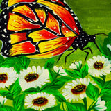 butterfly painting for wall decor