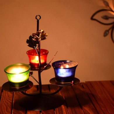 Traditional Tea Light Candle Holder