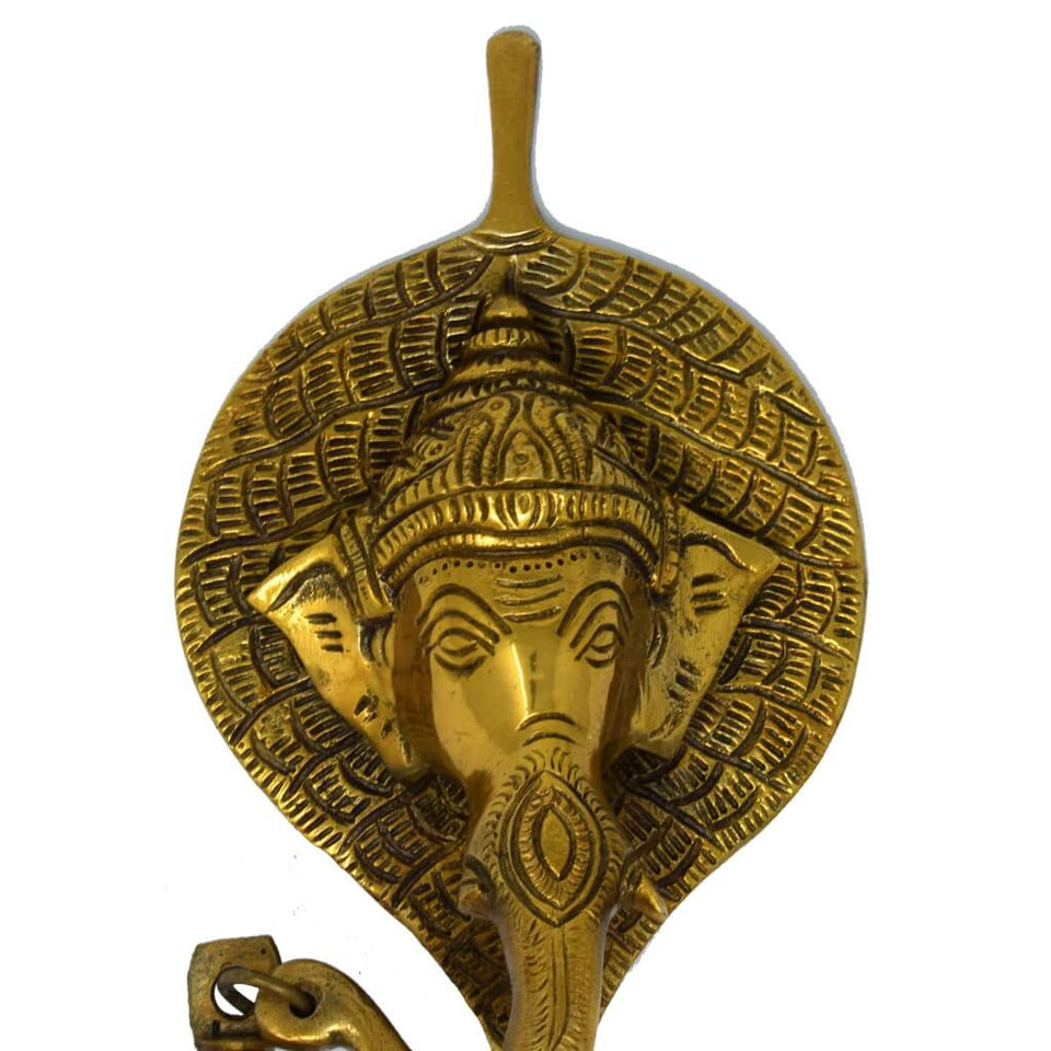 Antique Ganesh Wall Hanging Statue for Home Decor