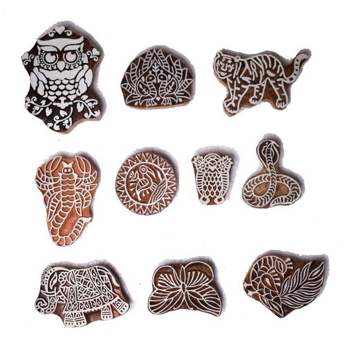 Animals Printing Stamps for Children Craftsbook