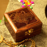 Handmade Indian Wooden Jewelry Box