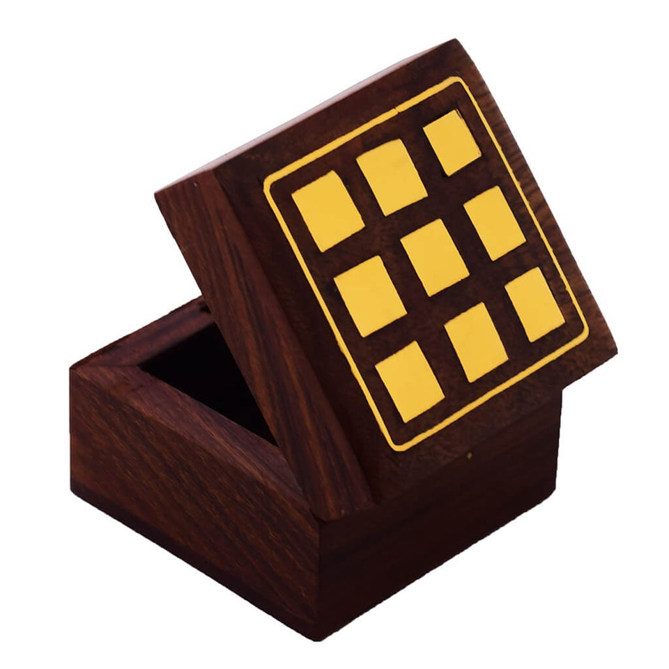 Wooden Trinket Box for Gift or Storage
