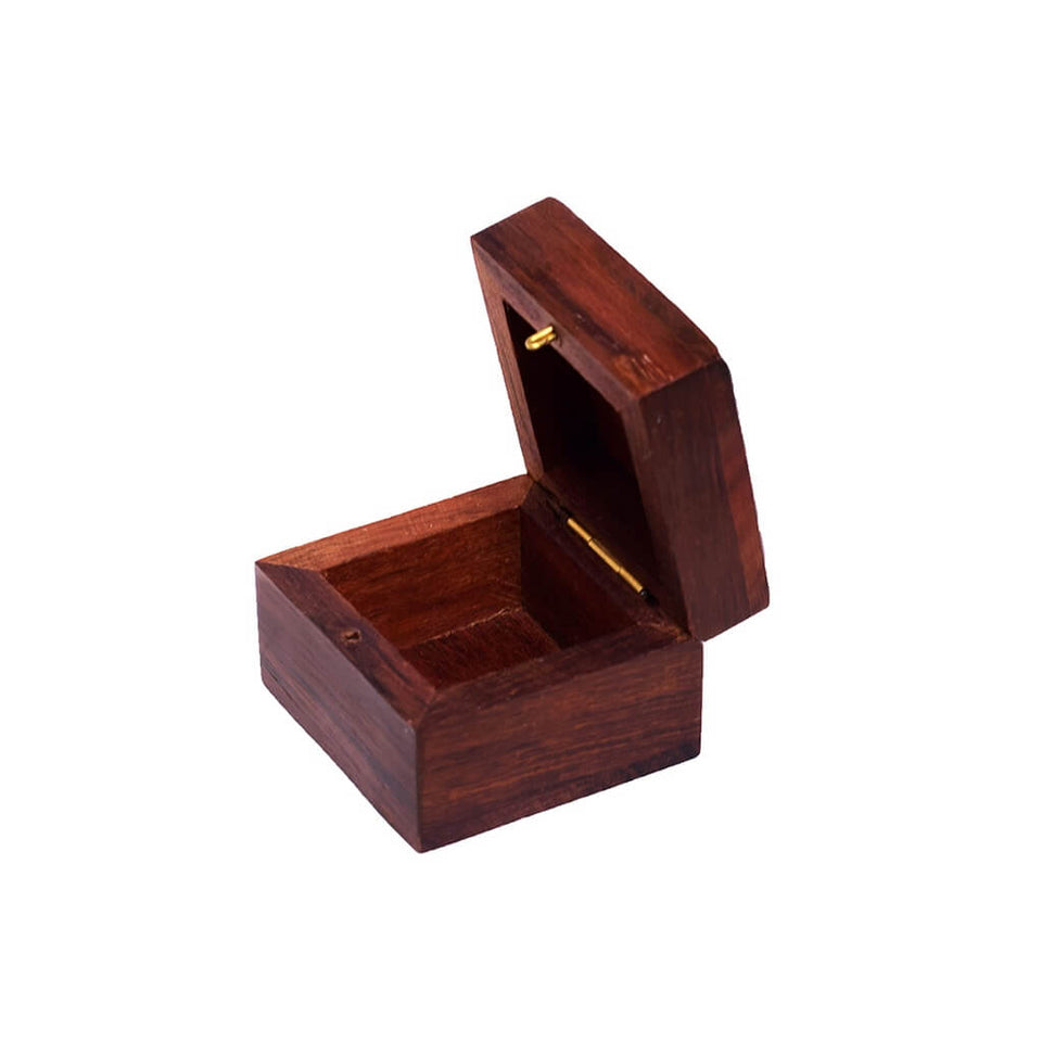 Designer Wooden Trinket Jewelry Box for Gift/ Storage