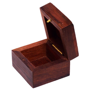 Heart Design Wooden Trinket Jewelry Box for Gift/ Storage