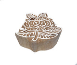 Wooden Printing Blocks For Mehndi Design/ Scrapbooking