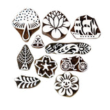 Indian Wooden Stamps for Painting