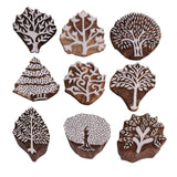 Wooden Stamps for Clay Projects DIY Work