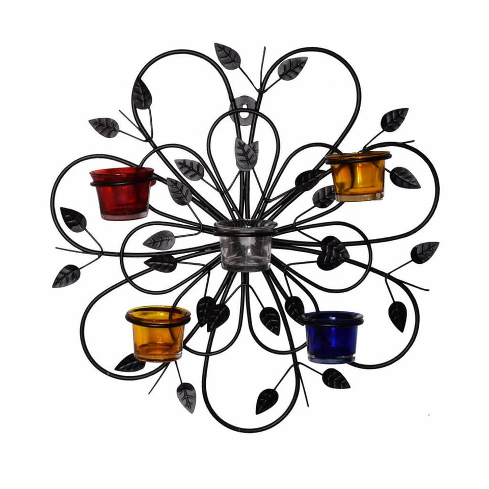 Decorative Wall Sconce Tealight Candle Holder