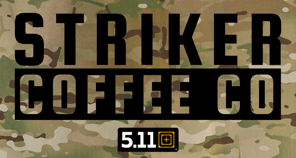 Striker Coffee Co. are now in 5.11 Tactical Australia stores