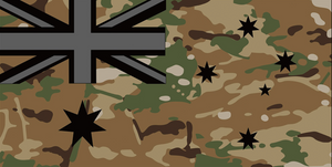 Open image in slideshow, FLAG AUSSIE MULTI CAM FLAGS- NEW FLAG