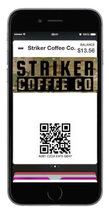 STRIKER  GIFT CARD