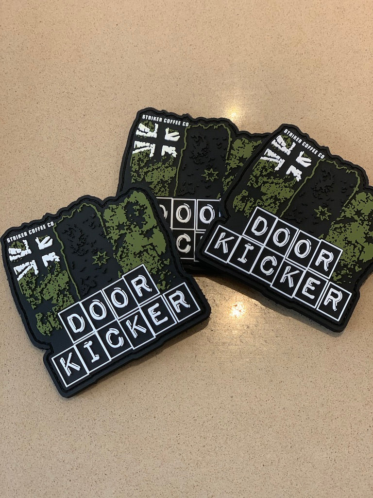 "MORALE PATCH ""DOOR KICKER"" PVC"