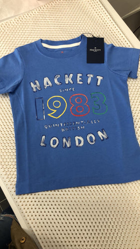 Hackett Washed Blue Number 1 Tshirt