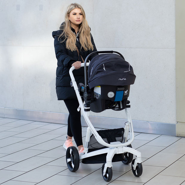 Luxury Milkbe Self Stopping Stroller - Car Seat Adapter