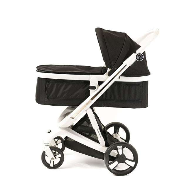 Black Milkbe Carry Cots - Luxury Milkbe Strollers
