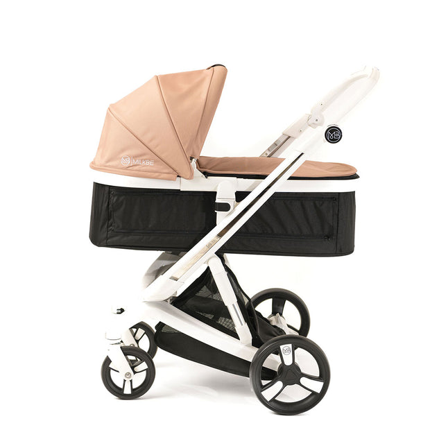 Gold Milkbe Carry Cot - Gold Carry Cot for Milkbe Stroller