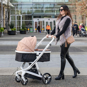 Gold Milkbe Carry Cot - Convertible Milkbe Stroller