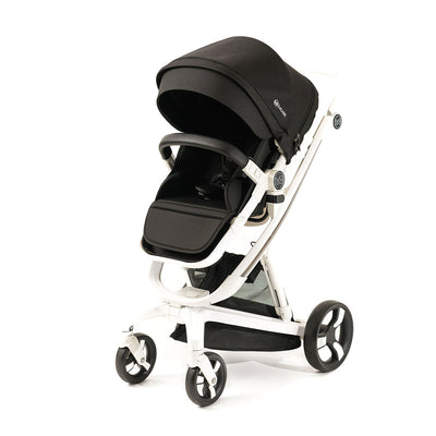 Black Milkbe Lullaby Stroller - Luxury Self Stopping Stroller