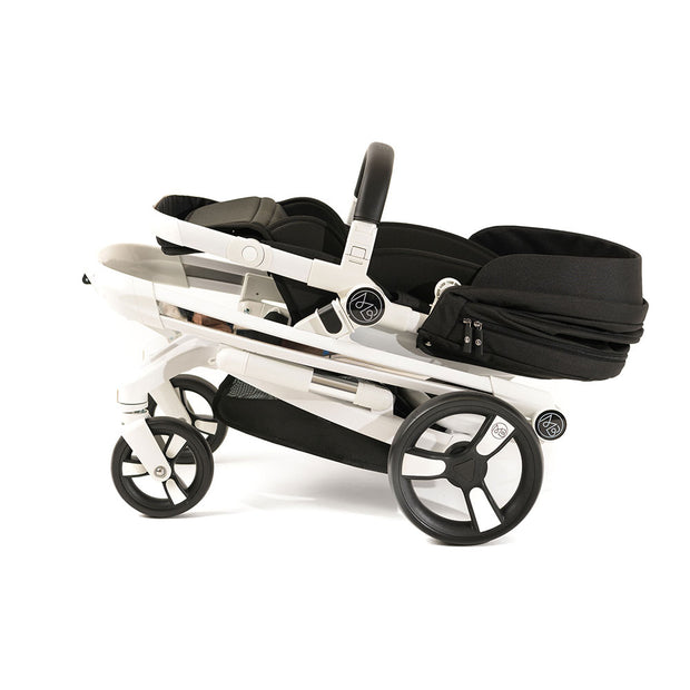 Black Milkbe Lullaby Stroller - Easy to Fold and Carry Stroller