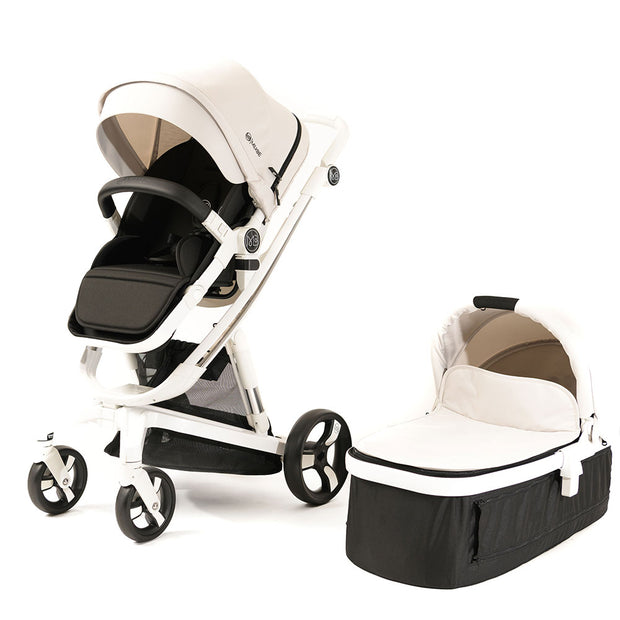 Milkbe Bundle - A Pram, a Buggy, and a Pushchair - Beige