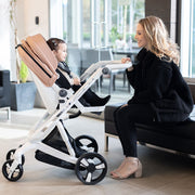 Milkbe Bundle - A Pram, a Buggy, and a Pushchair - Gold