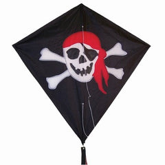 "Jolly Roger 30"" Diamond Kite"