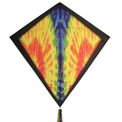 "Tie Dye 30"" Diamond Kite"