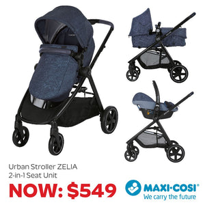 The Clever Multi-Function Stylish 0m to 4yr old Stroller
