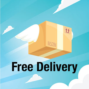 FREE Delivery - No Minimum Purchase Value!