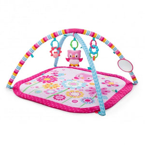 Bright Starts BS10091 (20/39) Activity Gym Fancy Flowers - Pink