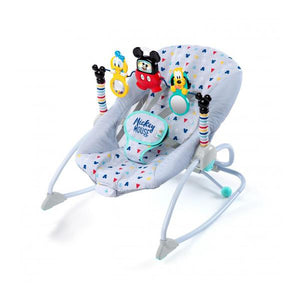 Disney BS10327 (25/45) Mickey Mouse Take-Along Songs Infant-to-Toddler Rocker