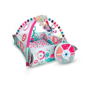Bright Starts BS10786 (10/30) Activity Gym 5-in-1 Your Way Ball Play - Pink