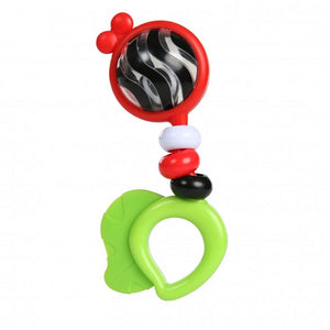 Baby Einstein BE11416 (0) Teether Bright Bold Rattle Toy