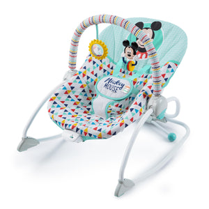 Disney BS11543 (20/38) Mickey Mouse Happy Triangles Infant-to-Toddler Rocker