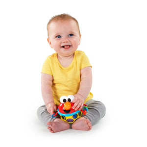 Sesame Street BS12098 (0) Jingle & Shake Elmo Easy-Grasp Rattle