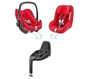 Maxi-Cosi Pebble Plus - Vivid Red_2
