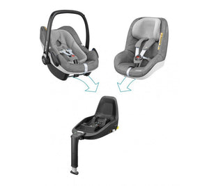 Maxi-Cosi Pebble Plus - Nomad Grey_2