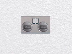 Dreambaby DB01044 (30) Outlet Plugs 6pk - Silver