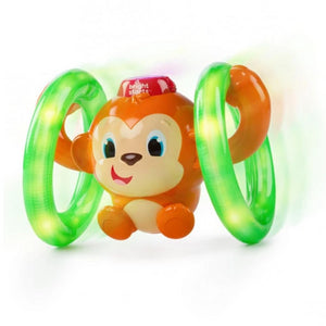 Bright Starts BS52181 (30/45) LLB Roll & Glow Monkey Toy