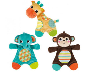 Bright Starts BS8916-MON (0) Snuggle & Teethe - Snuggle Teether Monkey
