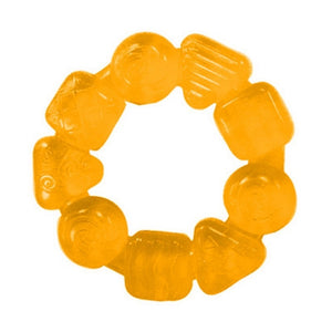 Bright Starts BS10204 (0) Soothing Ring Teether - Orange