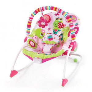 Bright Starts BS10125 (10/30) Rocker - Raspberry Garden