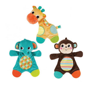 Bright Starts BS8916-ELE (0) Snuggle & Teethe - Snuggle Teether Elephant