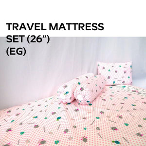 Cheeky Bon Bon CK043 (10/22) Travel Mattress Set (26x38x3 inches)