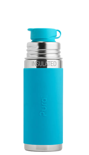 Pura PR250ISP/A 250ml Insulated Sports Bottle & Sleeve - Aqua