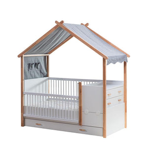 CHARLOTTE Kids Extendable Grow Baby Bed (MH-1292)