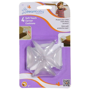 Dreambaby DB00839 (30) Soft Touch 2 Layer Corner Cushion 4pk